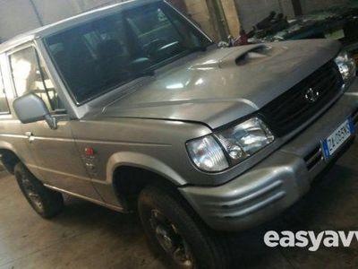 used Hyundai Galloper 2.5 tdi corto comfort + clima diesel