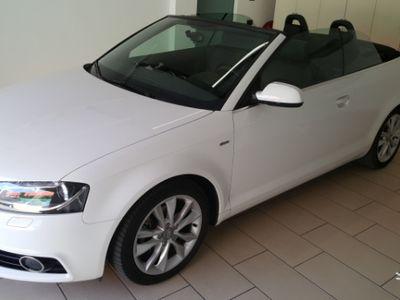 usata Audi A3 Cabriolet 2.0 TDI S-LINE
