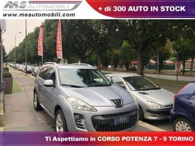 second-hand Peugeot 4007 2.2 HDi 156CV 7 Posti 4x4 Pelle Gancio Traino