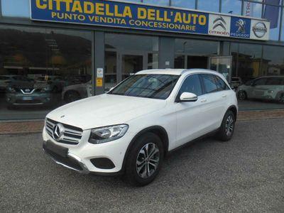 usado Mercedes GLC220 d 4MATIC,NAVI,CERCHI 17,FARI LED,PORTELLONE ELET