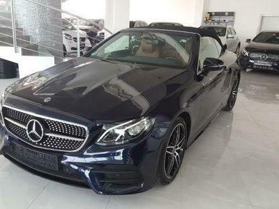 """begagnad Mercedes E220 Cabrio Auto """"Night Edition"""" ***AZIENDALE***"""