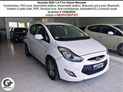 usata Hyundai ix20 1.4 77cv Cerchi in lega PDC post Neopatentati