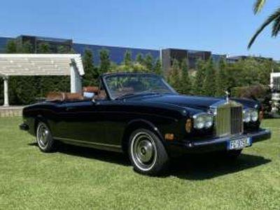 usata Rolls Royce Corniche Mulliner Park Ward ISCRITTA ASI Benzina