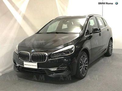 usata BMW 218 Serie 2 Active Tourer i Luxury del 2019 usata a Roma