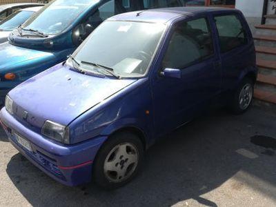 usata Fiat Cinquecento 1.1i cat 54Cv Sporting 1 Proprietario Originale