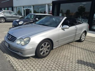 usata Mercedes CLK200 Classe Coupè Kompr. Tps Cat Cabrio Avantg. Gpl Usato