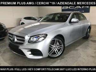 """usata Mercedes E220 Auto Premium AMG /""""19/NAVI PLUS/TELECAM 360°"""