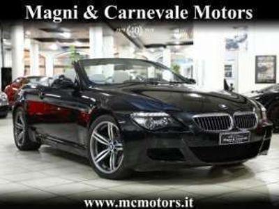 usata BMW M6 CABRIO|CRUISE|FARI BI-XENO|NAVIGATORE|SENSORI Benzina