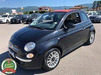 usata Fiat 500C c 1.2 lounge cabrio - impianto gpl