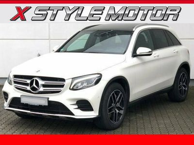 second-hand Mercedes GLC220 d 4Matic AMG-panorama-navi-led-pelle