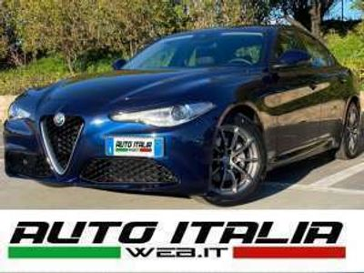 usata Alfa Romeo Giulia 2.2 TD 160CV+PELLE+XENO+LINE ASSIST+LED+SENSORI Diesel