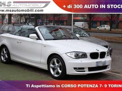 usata BMW 123 Cabriolet d cat Futura Unicoproprietario