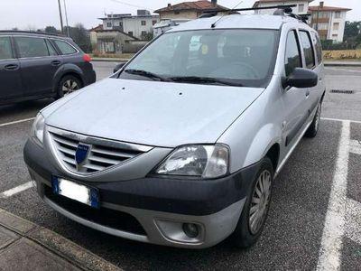 usata Dacia Logan MCV 1.5 dCi 70CV 7 posti Lauréate