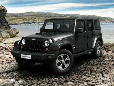 usata Jeep Wrangler Unlimited 2.8 CRD DPF Sahara Auto