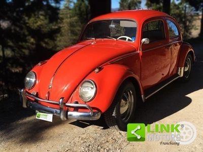 usata VW Maggiolino 1200 6V, anno 1963, restaurata