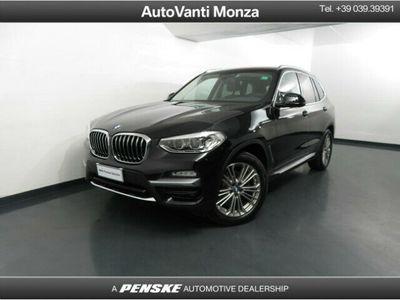 usata BMW X3 xDrive20d Luxury