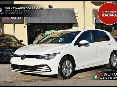 usata VW Golf 8 VIII 2.0 TDI 150 CV DSG SCR Life KM ZERO ITALIA