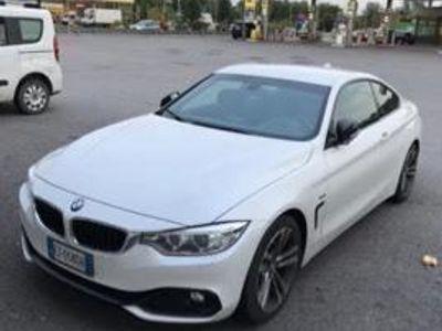 usata BMW 430 d coupè MSport F32 serie 4 bianco perla