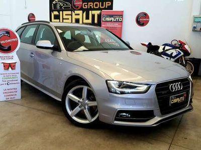 usata Audi A4 Avant 2.0 TDI 190 CV clean diesel qua