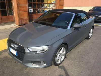"usata Audi A3 Cabriolet 2.0 TDI 150Cv S-Tronic ""C.Aut/Nav"