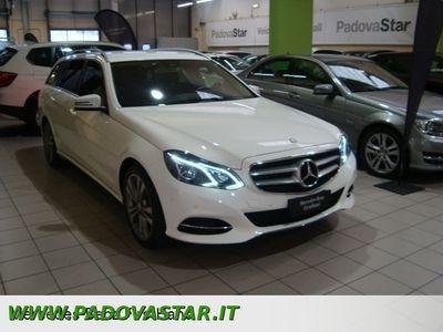 usata Mercedes E250 CLASSE ECDI S.W. 4Matic Premium
