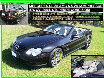 usata Mercedes SL55 AMG SL 55 AMGKompressor cat AMG Milano