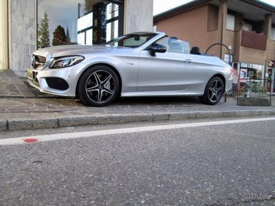 usata Mercedes C43 AMG amg 4matic cabrio sport, tagliandata