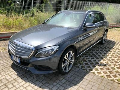 begagnad Mercedes 250 Classe C Station WagonBlueTEC Automatic Premium del 2015 usata a San Giorgio a Liri