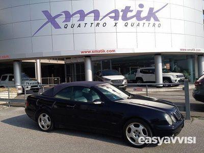 used Mercedes CLK200 kompressor cat cabrio elegance evo benzina/gpl