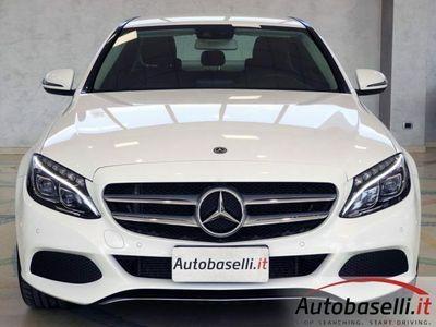 usata Mercedes C220 200 d sport 7g-tronic pelle led garanzia 2 anni