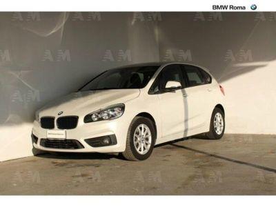 usata BMW 216 Serie 2 Active Tourer d Advantage del 2016 usata a Roma