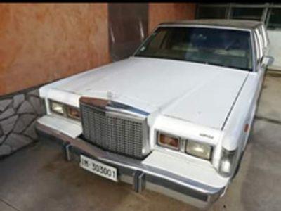 usata Lincoln Town Car limousine 1986