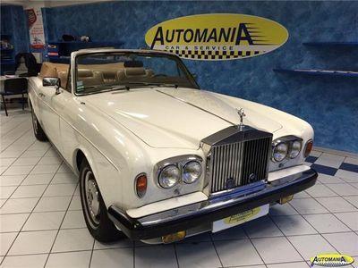 usata Rolls Royce Corniche usata 1982