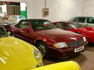 usata Mercedes SL600 prima immatricolazione Dubai