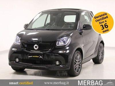 usata Smart ForTwo Cabrio Cabrio EQ BRABUS Style del 2019 usata a Milano
