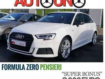 usata Audi A3 SPB 30 TFSI S-tronic Sport S-LINE + LED + NAVI