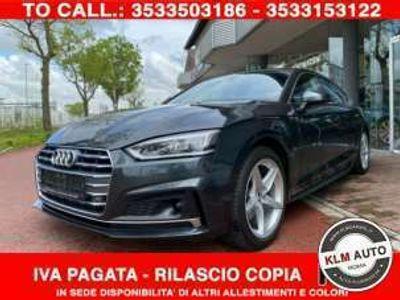 usata Audi A5 Sportback g-tron S-tronic S-Line Matrix**F24**
