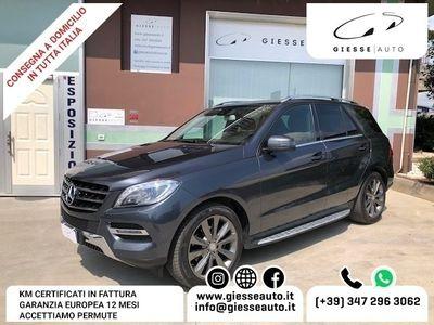 usata Mercedes ML350 BlueTEC 4Matic Premium AUT+LED+NAVI GARANZIA
