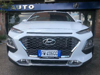 "used Hyundai Kona BIANC 1.0 T-GDI X POSSIBLE NAVI KAMERA C.LEGA 18"""