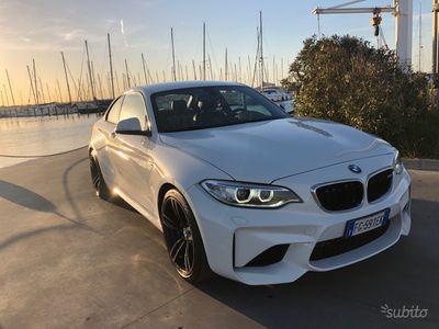 usata BMW M2 370hp TAGLIANDO-SUPERBOLLO