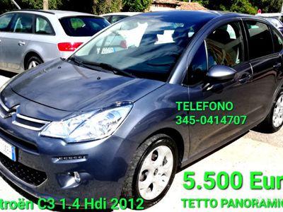 usata Citroën C3 1.4 hdi FULL TETTO PANORAMICO 2012