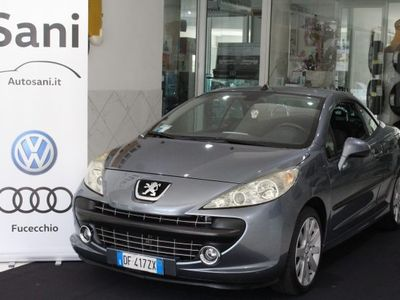 used Peugeot 207 CC Cabrio VTi 120CV Tecno usato