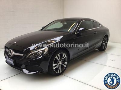 brugt Mercedes 220 CLASSE C COUPÉ C couped Sport auto