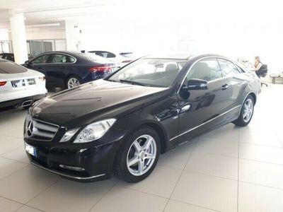 usata Mercedes E220 CDI Coupé BlueEFFICIENCY exe