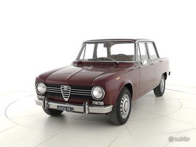 usata Alfa Romeo Giulia 1300 SUPER 1a serie ASI Targa