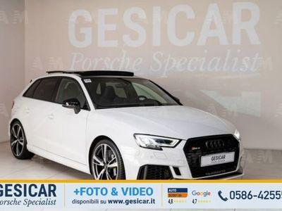 usata Audi RS3 Sportback 3 2.5 TFSI quattro S tronic del 2018 usata a Livorno