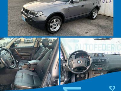 usata BMW X3 2.0d cat Futura 4x4