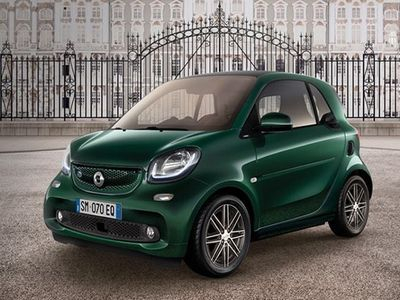 used Smart ForTwo Coupé EQ British Green