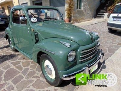 usata Fiat 500C Topolino, immatricolata nel 1954, completamente restaurata, documenti originali