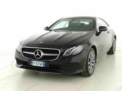 usata Mercedes E220 4Matic Coupè Business Sport